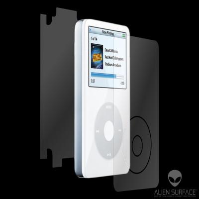 Apple iPod Video 60GB - 80GB folie protectie Alien Surface HD