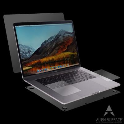Apple MacBook Pro 13 inch Touch Bar 2016-2018 folie protectie Alien Surface