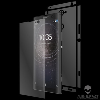 Sony Xperia XA2 Plus folie protectie Alien Surface ecran, carcasa, laterale