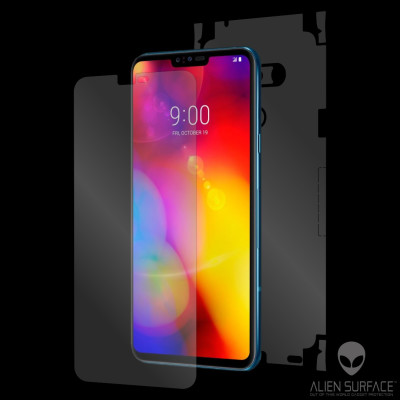 LG V40 ThinQ folie protectie Alien Surface ecran, carcasa, laterale