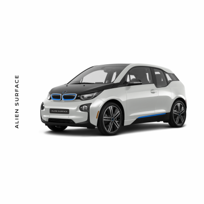 BMW i3 (2019) Display Multimedia folie protectie Alien Surface