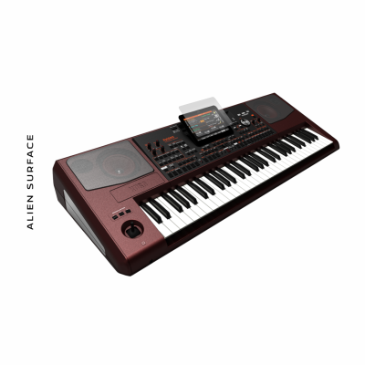 Korg Pa1000 folie protectie Alien Surface
