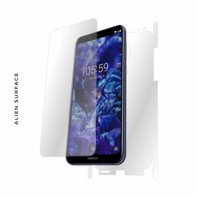 Nokia 5.1 Plus (2018) folie protectie Alien Surface