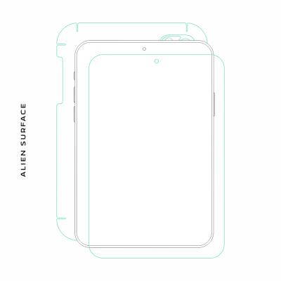 Vodafone SMART TAB III 10 folie protectie Alien Surface