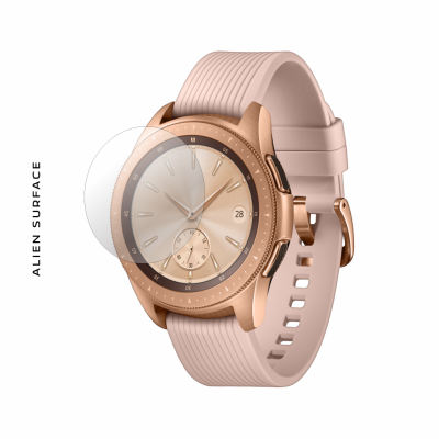 Samsung Galaxy Watch 42 Rose Gold folie protectie Alien Surface