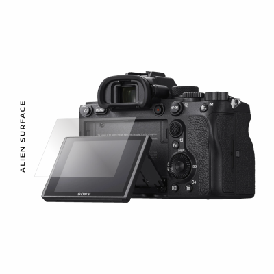 Sony A7R IV folie protectie Alien Surface